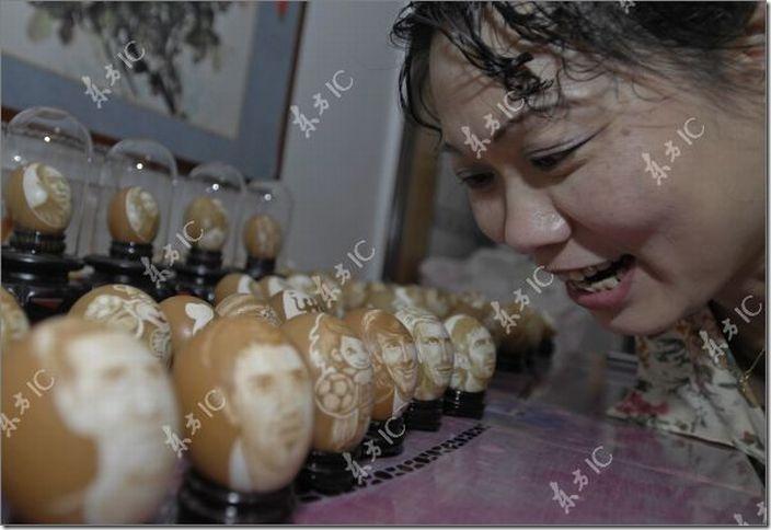 arte con huevos migallinero (5)