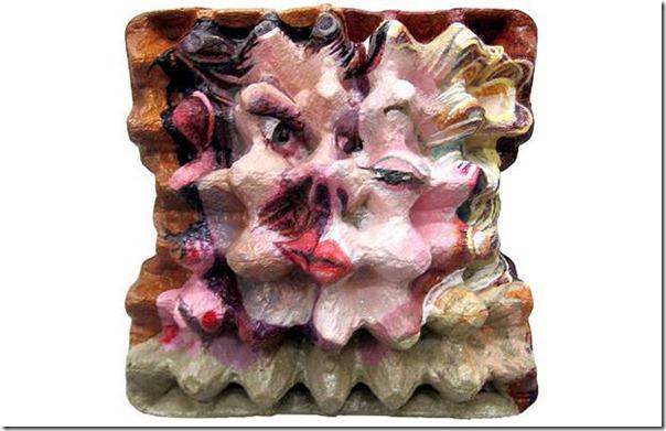 pinturas en cajas de huevos migallinero (6)