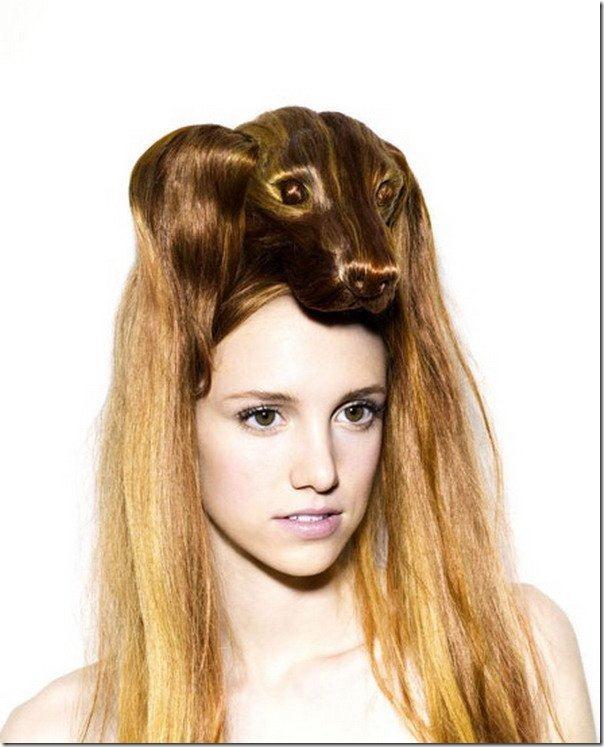 peinados con animales en la cabeza (1)