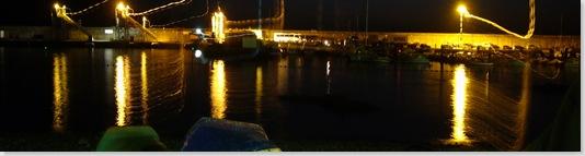 puerto agaete noche