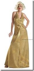 marilyn_dressgold dress