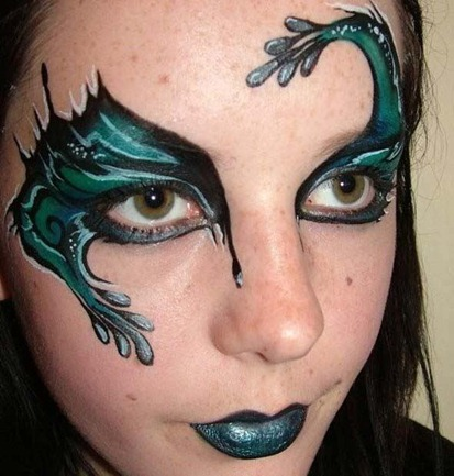green-fantasy-eye-make-up