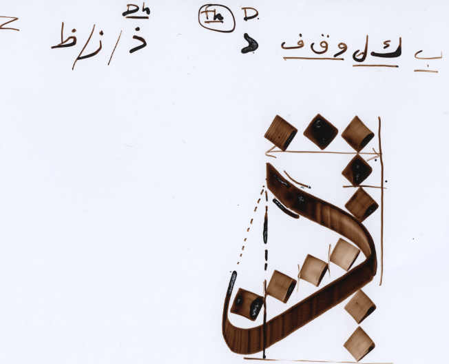 The Calligraphy Society: Thuluth Beginners: Lesson 5