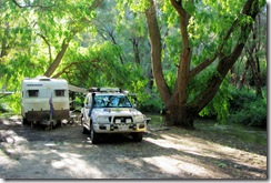 Wonderful camp site - Pemberton Caravan Park