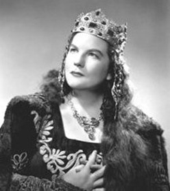 Margaret Harshaw as Ortrud in Wagner's LOHENGRIN at the Metropolitan Opera