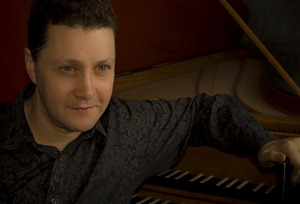 Jory Vinikour, harpsichordist [Photo by Kobie van Rensburg, 2008]