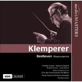 Beethoven: MISSA SOLEMNIS (Otto Klemperer; Medici Arts MM015-2)