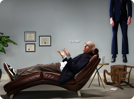 Larry David no está solo