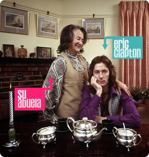 Clapton y la abuela