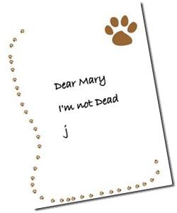 John Letter 1