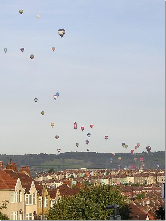 Ballons over Bristol