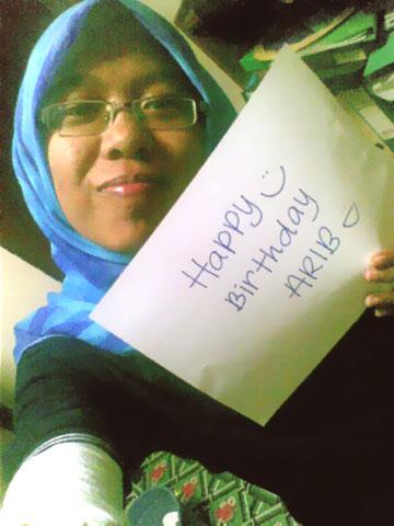 Kak Kyla | MMS: Happy Birthday Arib :) Akk doakan moga pnjg umur,