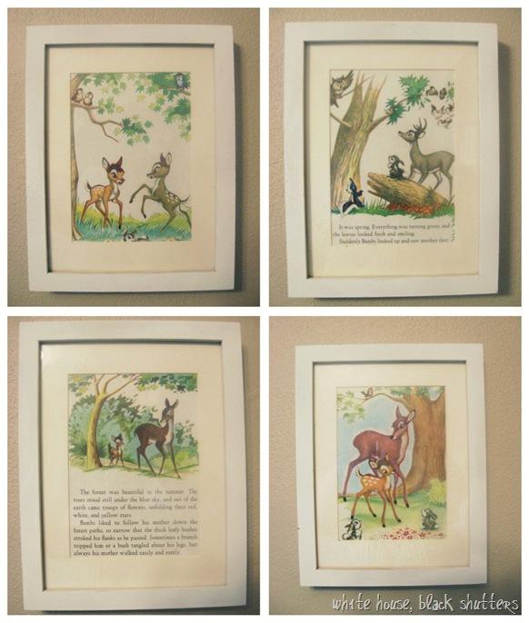 Book Cover Nursery Art : Little golden storybook art white house black shutters