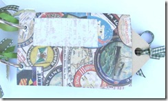 toilet paper tube tag journal 2nd page front