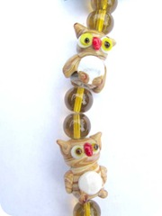 owl beads clup