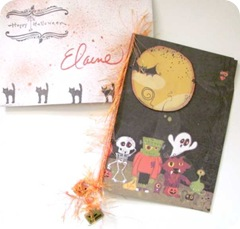 halloween envelope.card from dawn