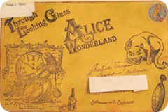 Alice in Wonderland mail art envy