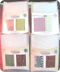 texture fade embossing plates TH