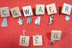 scrabble tile pins charms