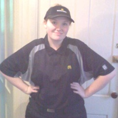 Katies first day at work3.2011