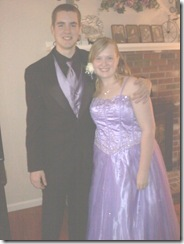 katie and matt's SR prom 2nd photo 2011