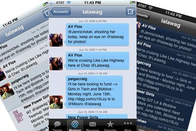 Приложение Tweetie стало собственностью Twitter'а