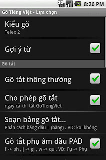 gotiengviet android luachon1 GoTiengViet Android   Bộ gõ Tiếng Việt thông minh cho điện thoại Android