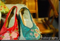 Chinese Embroidered Shoes, Jinli Street - Chengdu, Sichuan Province, China