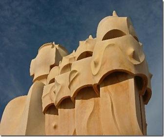 arquitectura-mirador-terraza-de-Gaudi-La-Pedrera-Casa-Mila