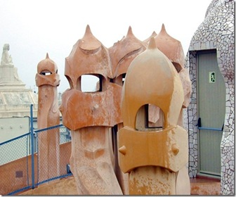 arquitectura-de-Gaudi-Casa-Mila