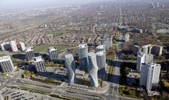 The Absolute Towers Mississauga Canada