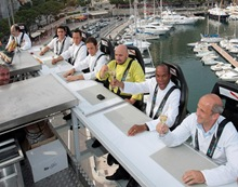 MONACO-FRANCE-GASTRONOMY-OFFBEAT-DINNER