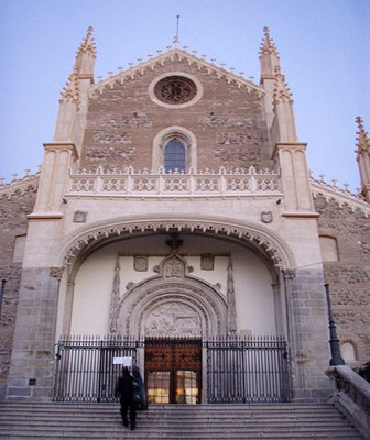 Iglesia-San-Jerónimo-el-real-Madrid