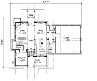 Planos modernos de casas planos de casas modernas - Planos de chalets modernos ...