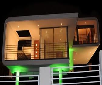 Casa bore bacigalupi por castro guarda arquitectos for Fachadas de casas segundo piso