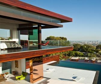 Fachadas-casas-modernas-casas-de-lujo-diseño-fachadas-Hollywood-Hills