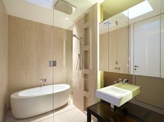 Casas diseo baos modernos fotos for Disenos de banos de casas modernas