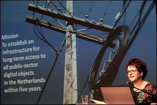 Je zult er maar onder staan, die infrastructuur van de NCDD - Inge Angevaare, NCDD - Foto De Balie