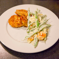 Potato'n Salmon Cakes