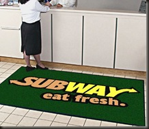 subway mat