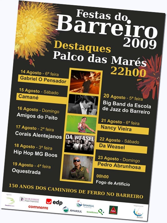 Programa das Festas do Barreiro