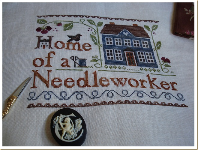 HOME OF A NEEDLEWORKER TOO