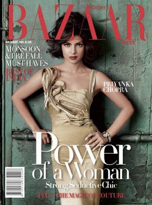 priyanka chopra harper bazaar magazine actress pics