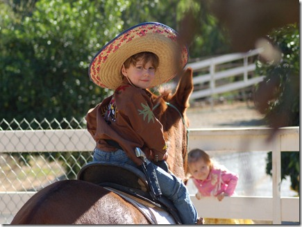 A Cowboy and Rodeo Queen