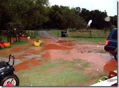 rain 10.8.09 001 looking toward the gate