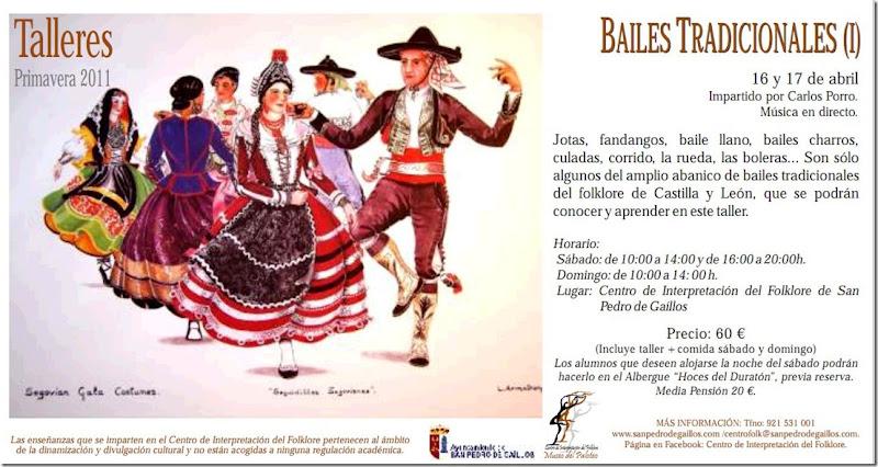 Bailes tradicionales castilla y león 16 y 17 de abril de 2011