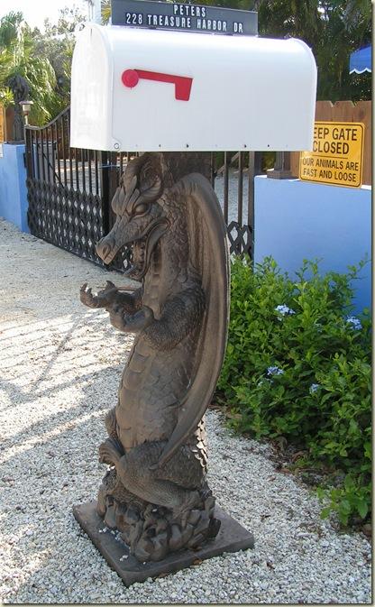 Mailbox Dragon