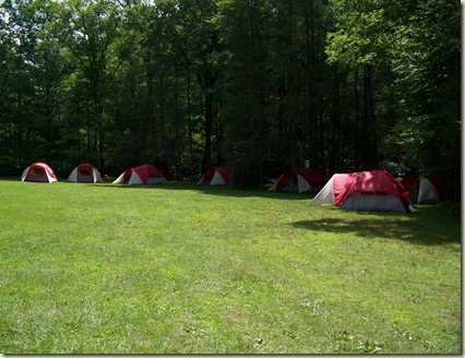 Cove Creek Group Lower Camp