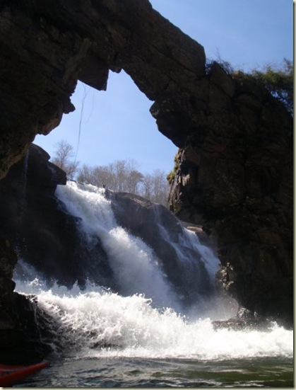 Natural bridge at Town Creek