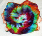 Medium Rainbow Tie Dye Fitted
